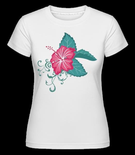 Flower Comic - Shirtinator Frauen T-Shirt - Weiß - Vorn