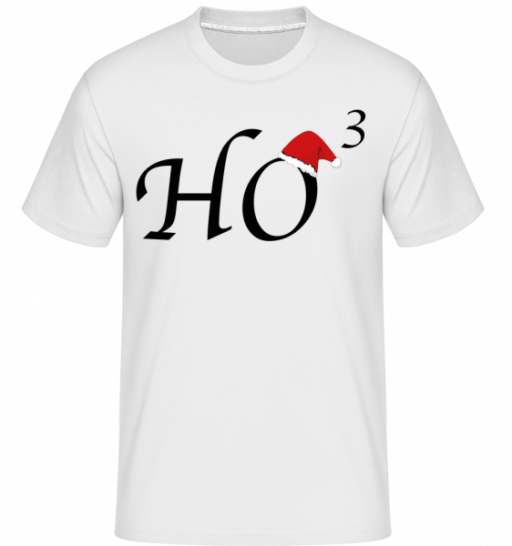 Ho * 3 -  Shirtinator Men's T-Shirt - White - Vorn