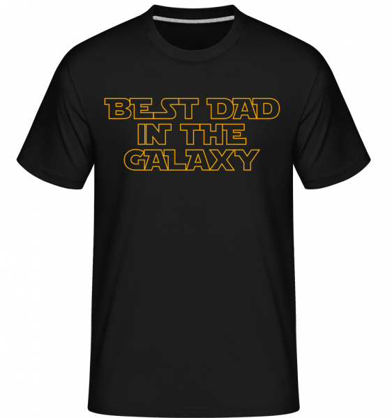 Best Dad In The Galaxy -  Shirtinator Men's T-Shirt - Black - Vorn