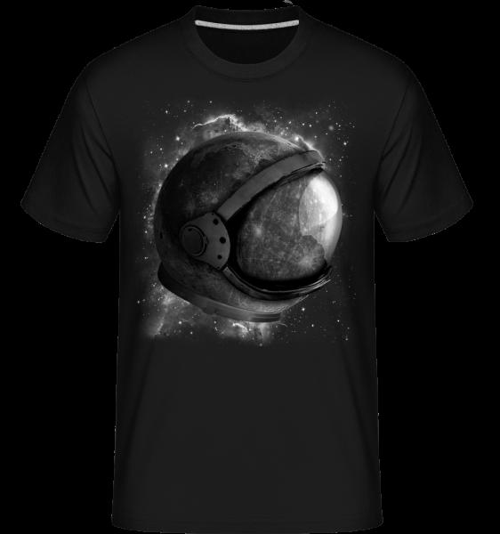 Astronaut' Helmet -  Shirtinator Men's T-Shirt - Black - Vorn