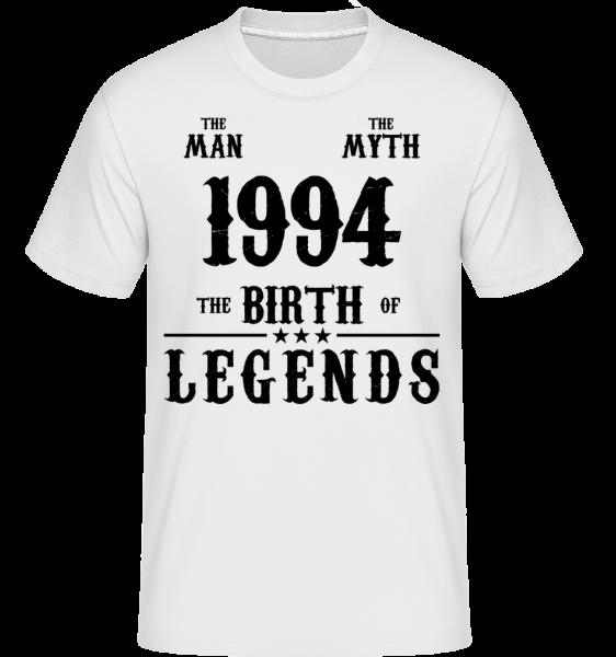 1994 The Man Myth - Shirtinator Männer T-Shirt - Weiß - Vorn