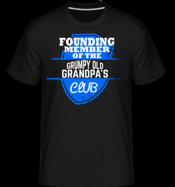 Grumpy Old Grandpas Club - Shirtinator Männer T-Shirt - Schwarz - Vorn