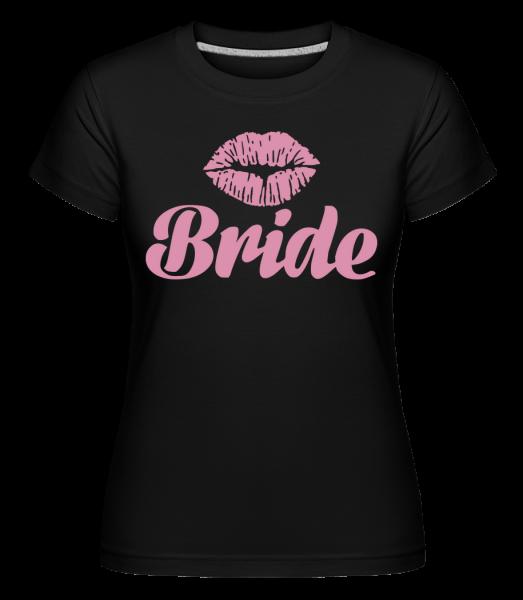 Bride Kiss -  Shirtinator Women's T-Shirt - Black - Vorn