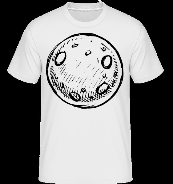 Mond - Shirtinator Männer T-Shirt - Weiß - Vorn