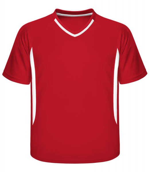 Men's Retro Jersey 337 - Red - Front
