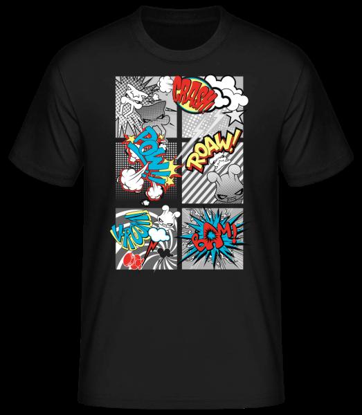 Cartoon goblins - Basic T-Shirt - Black - Vorn