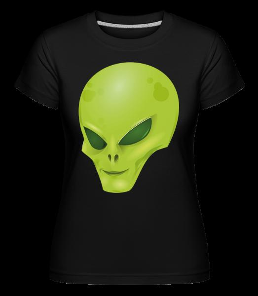 Alien Head - Shirtinator Women's T-Shirt - Black - Vorn