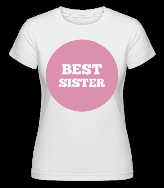 Best Sister -  Shirtinator Women's T-Shirt - White - Vorn