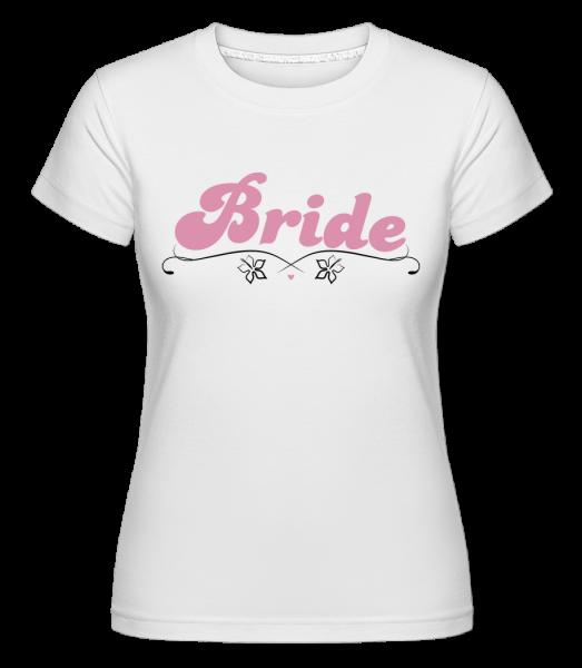 Bride -  Shirtinator Women's T-Shirt - White - Front