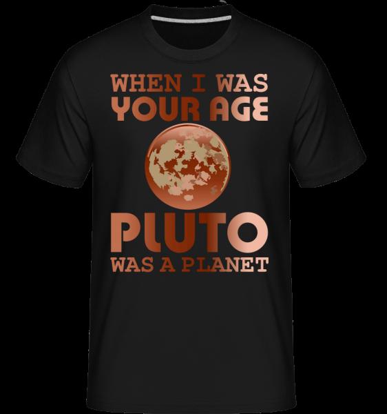 When I Was Your Age -  Shirtinator Men's T-Shirt - Black - Vorn