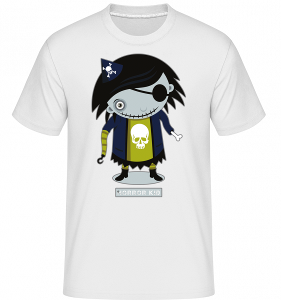 Horror Kid -  Shirtinator Men's T-Shirt - White - Front