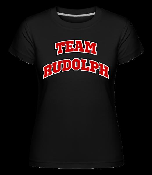 Team Rudolph -  Shirtinator Women's T-Shirt - Black - Vorn