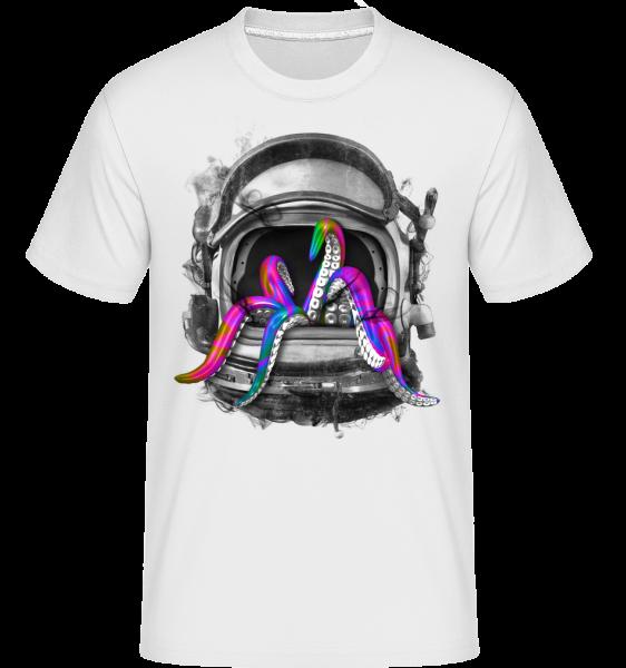 Tintenfisch Helm - Shirtinator Männer T-Shirt - Weiß - Vorn