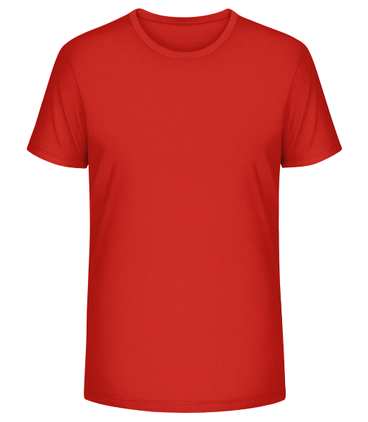 Men's Organic T-Shirt Stanley Stella - Red - Front