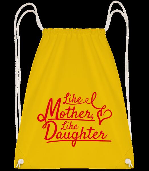 Like Mother Like Daughter - Turnbeutel - Gelb - Vorn