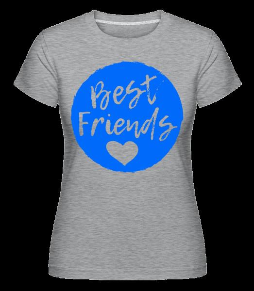 Best Friends Love -  Shirtinator Women's T-Shirt - Heather grey - Vorn