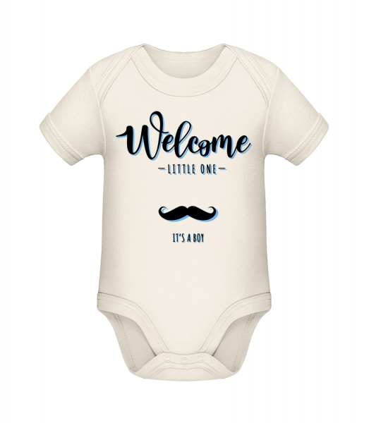 Welcome It´s A Boy - Organic Baby Body - Cream - Vorn