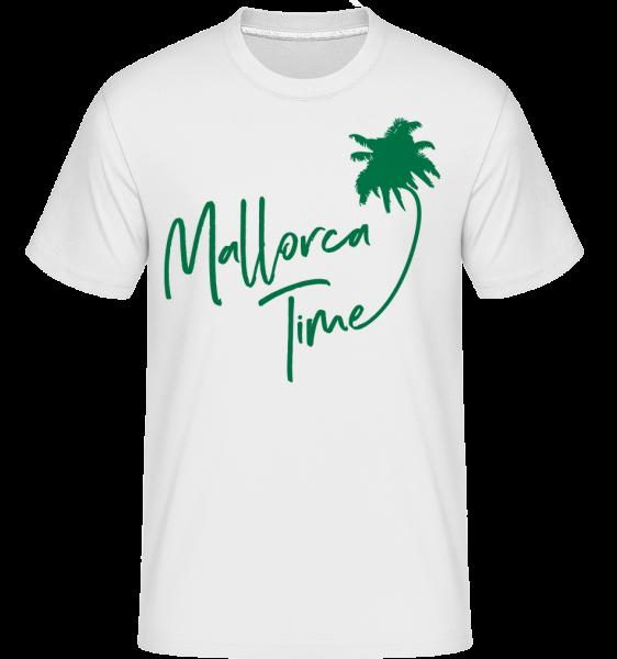 Mallorca Time - Shirtinator Männer T-Shirt - Weiß - Vorn