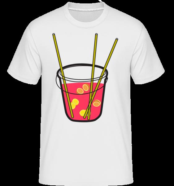 Sangria -  Shirtinator Men's T-Shirt - White - Vorn