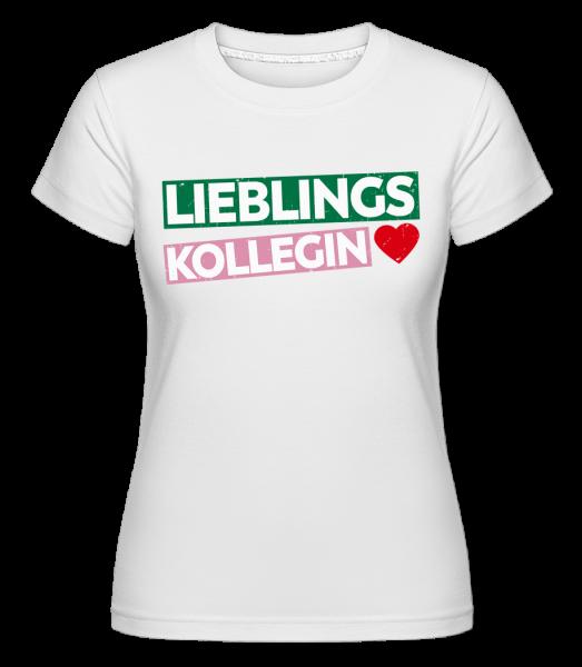 Lieblingskollegin - Shirtinator Frauen T-Shirt - Weiß - Vorn