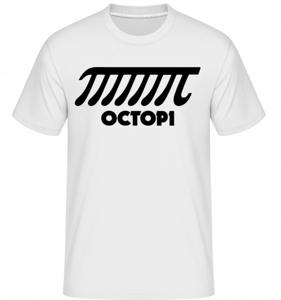 Octopi -  Shirtinator Men's T-Shirt - White - Vorn