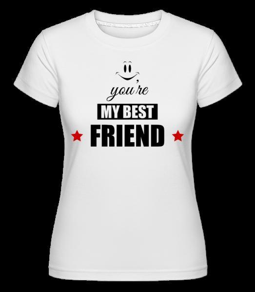 You're My Best Friend -  Shirtinator Women's T-Shirt - White - Vorn