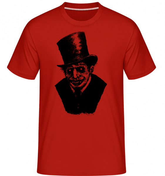 Gentleman Zombie -  Shirtinator Men's T-Shirt - Red - Vorn