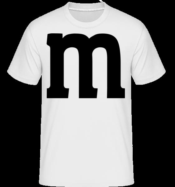M - Shirtinator Männer T-Shirt - Weiß - Vorn