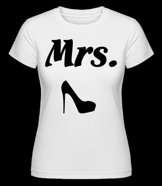 Mrs. Wedding - Shirtinator Frauen T-Shirt - Weiß - Vorn