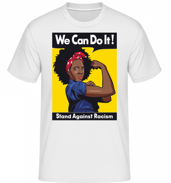We can do it -  Shirtinator Men's T-Shirt - White - Front