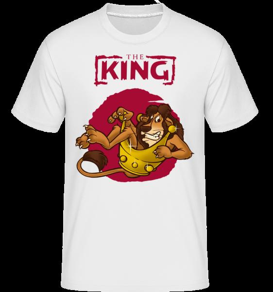 The King -  Shirtinator Men's T-Shirt - White - Front