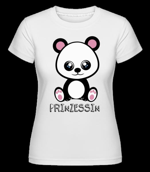 Bärchen Prinzessin - Shirtinator Frauen T-Shirt - Weiß - Vorn