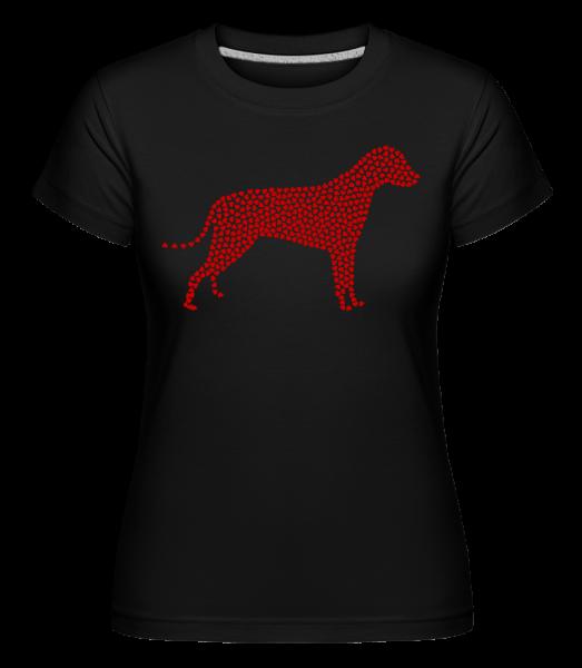 Heart Dog - Shirtinator Women's T-Shirt - Black - Vorn